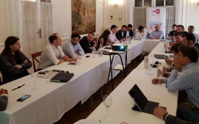 CEAJE celebró su Comité Ejecutivo en el Centro Riojano de Madrid